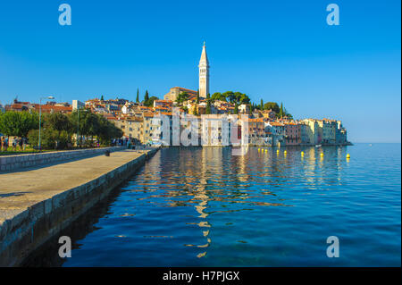 Altstadt von Rovinj, Istrien, Kroatien - Stockfoto
