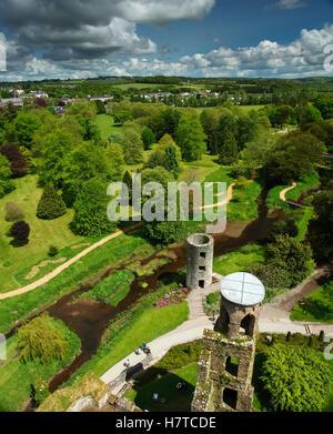 Blarney Castle; County Cork, Irland - Stockfoto