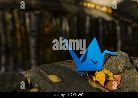 Blauen Kran - Stockfoto