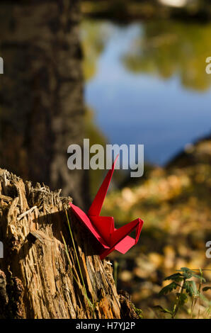 Rote Kran - Stockfoto