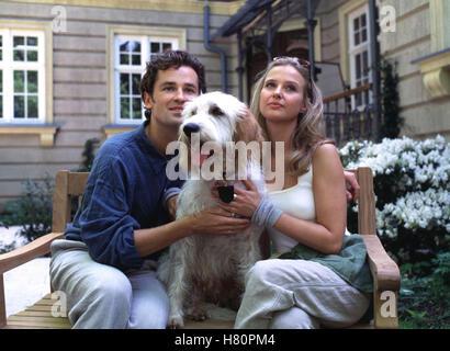 DIE UNZERTRENNLICHEN, Familienserie D 1996 / 97 - Pilotfilm + 13 Folgen, Regie: Bernhard Stephan, TIMOTHY PEACH, Hund MAX, KATHARINA BÖHM