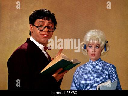 Stella Stevens Jerry Lewis Der Verrückte Professor 1963 Stockfoto