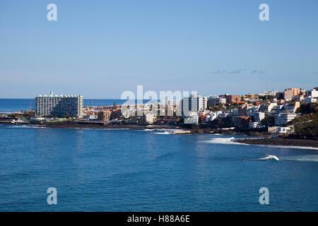 Punta de Hidalgo, Teneriffa, Kanarische Inseln, Spanien, Europa - Stockfoto