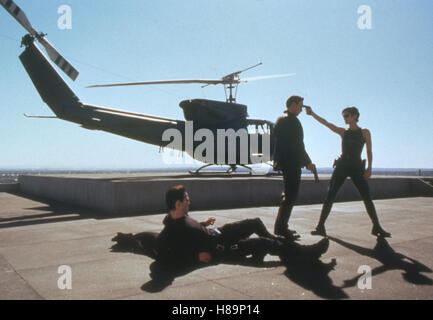 Matrix (MATRIX) USA 1999, Regie: Larry & Andy Wachowski, KEANU REEVES, CARRIE-ANNE MOSS, Stichwort: Hubschrauber, - Stockfoto