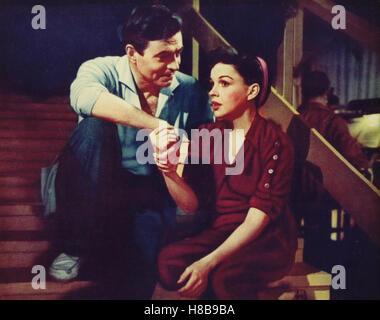 Ein Neuer Stern am Himmel, (A STAR IS BORN) USA 1954, Regie: George Cukor, JAMES MASON, JUDY GARLAND, - Stockfoto