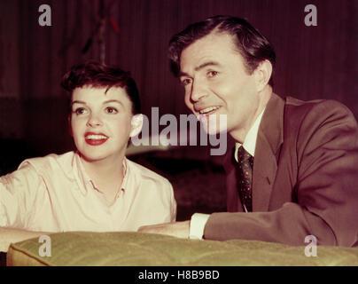 Ein Neuer Stern am Himmel, (A STAR IS BORN) USA 1954, Regie: George Cukor, JUDY GARLAND, JAMES MASON, - Stockfoto