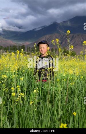Kirgisistan - Bilder - Reisen Menschen Zentralasien - Stockfoto