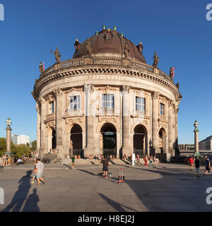 Bode Museum, Museumsinsel, UNESCO World Heritage Site, Mitte, Berlin, Deutschland, Europa - Stockfoto
