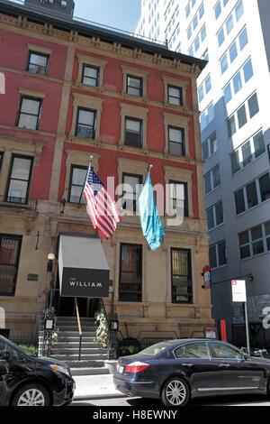 Die William-Hotel, ein modernes Boutique-Hotel in Manhattan, New York City, Vereinigte Staaten. - Stockfoto