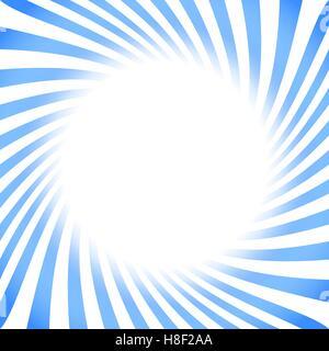 Retro-quadratischen Hintergrund mit blauer gedrehten Streifen - Stockfoto