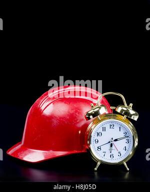 Zeit zu gehen, um mit Raum für Ihre Art zu arbeiten. - Stockfoto