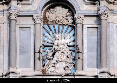 Piazza Duomo, Catania, Sizilien, Italien - Stockfoto