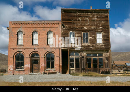 Bodie, Kalifornien, USA.  Verlassene Geisterstadt aus der gold-Bergbau-Ära. - Stockfoto