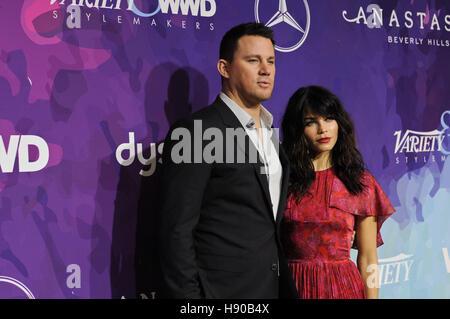 West Hollywood, CA, USA. 17. November 2016.  Channing Tatum, Jenna Dewan-Tatum. Vielfalt und WWD Host 2nd Annual - Stockfoto