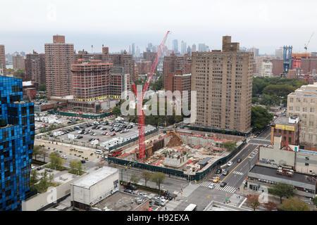 Bau auf der Lower East Side, Manhattan, New York, NY, USA - Stockfoto