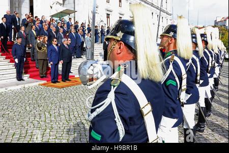 Lissabon, Lissabon, Portugal. 22. November 2016. Sprecher des portugiesischen Parlaments Eduardo Ferro Rodrigues - Stockfoto
