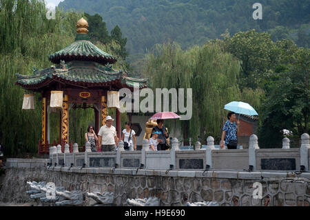Huaqing Palast Thermalquelle, Xi ' an, Provinz Shaanxi, China.  Palast-Thermalquellen wurde von Kaiser Taizong gebaut; - Stockfoto