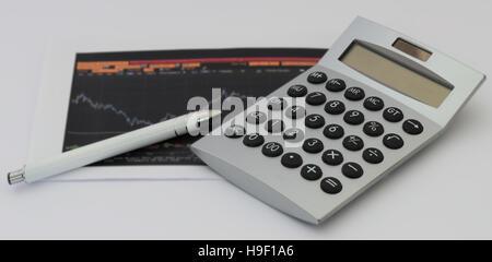 einige Business-Tool in einem weißen Hintergrund - Stockfoto