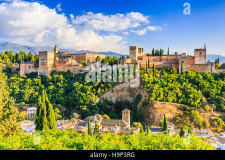 Alhambra von Granada, Spanien. Alhambra-Festung. - Stockfoto