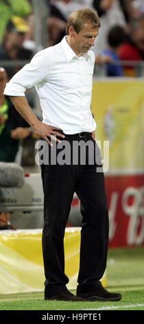 Jürgen KLINSMANN Deutschland gegen Italien-SIGNAL-IDUNA-PARK DORTMUND Deutschland 4. Juli 2006 - Stockfoto