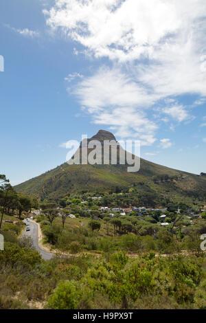 Die Lions Head Berg, Cape Town, Südafrika - Stockfoto