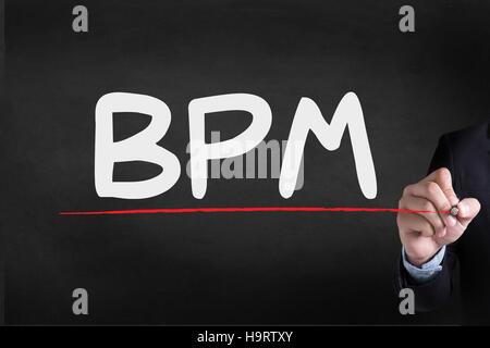 BPM - Business Process Management - Stockfoto
