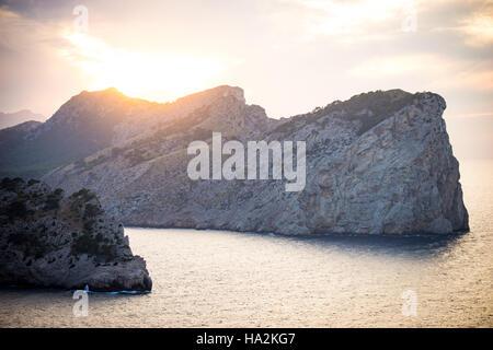 Felsenküste, Cap de Formentor, Mallorca, Spanien - Stockfoto