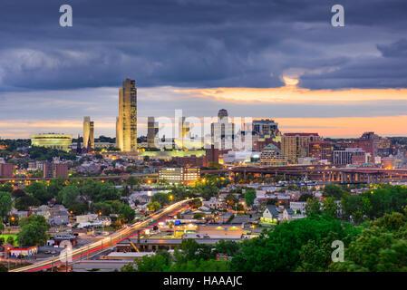 Albany, Skyline von New York City, USA. Stockfoto