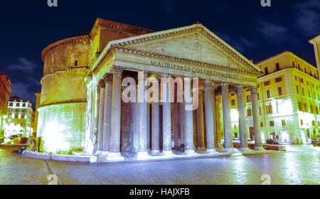Die älteste katholische Kirche in Rom - Pantheon - Stockfoto