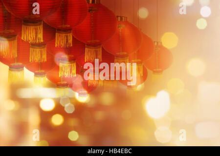 Abstrakte Mandarin chinesische Schriftzeichen Dekoration Stockfoto ...