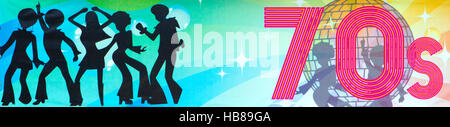 70er Jahre Stil Disco 70er Jahre tanzen