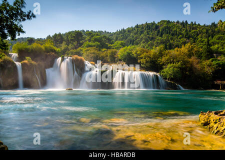Nationalpark Krka, Kroatien - Stockfoto