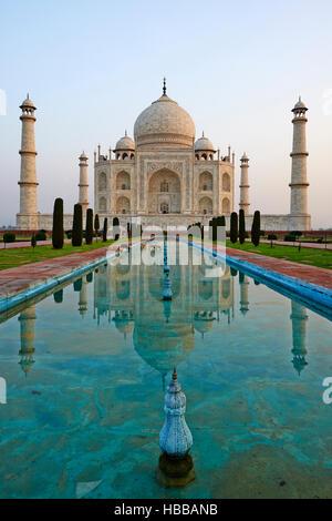 Inde, Etat de Uttar Pradesh, Agra, Taj Mahal, Patrimoine Mondial de UNESCO / / Indien, Uttar Pradesh state, Agra, - Stockfoto