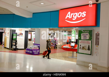 Argos-Shop, Schloss Mall, Norwich, Norfolk, england - Stockfoto