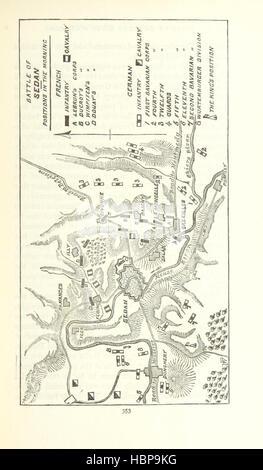 """Bild entnommen Seite 379 des """"entscheidenden Schlachten seit Waterloo; die wichtigsten militärischen Ereignisse - Stockfoto"""