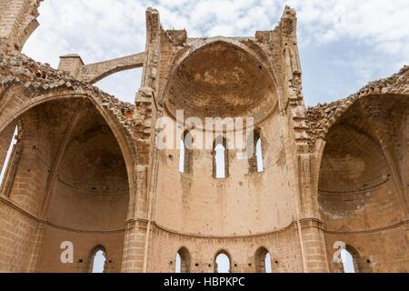 St George der Griechen Kirche innen mittelalterliche Famagusta, Zypern - Stockfoto