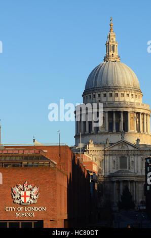 Die Stadt London Schule, auch als CLS und Stadt bekannt, ist eine unabhängige Tagesschule für Jungen, die in der - Stockfoto