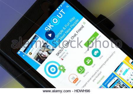 Skout-Dating-Netzwerk Unwahres Dating-Handy