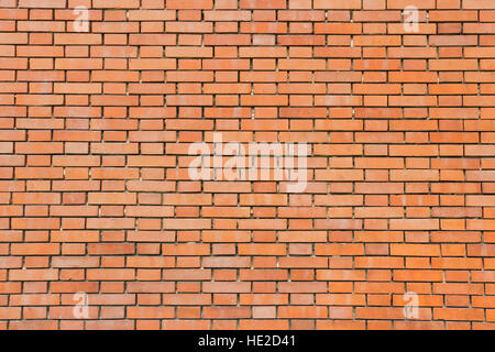Neue nackten orange Ziegel Wand Textur - Stockfoto