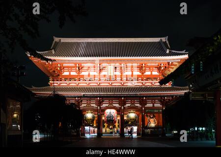 Kaminarimon, Asakusa, Japan - Stockfoto