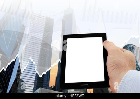 Mann mit smartphone - Stockfoto