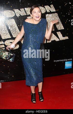 15. Oktober 2016 - Anna Friel Teilnahme an BFI London Film Festival Awards 2016 im Banqueting House in London, England, - Stockfoto