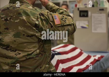 einen militärischen Freund haben