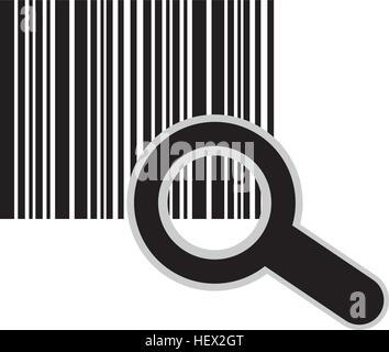 Codesymbol Bars - Stockfoto