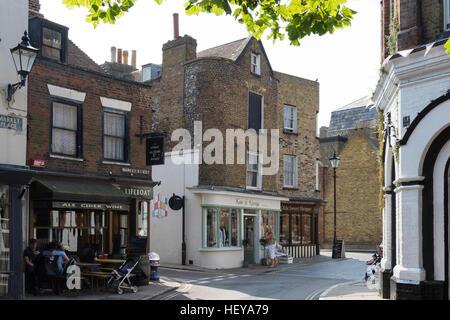 Markt Straße vom Marktplatz, Altstadt, Ramsgate, Kent, England, Vereinigtes Königreich - Stockfoto