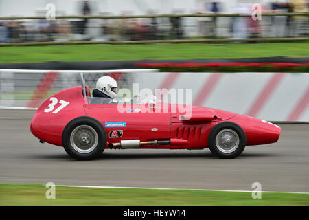 Martin Sheppard, Stanguellini-FIAT, Chichester Cup, Front Engined Formel Junior, Goodwood Revival 2016, 2016, Oldtimer, - Stockfoto