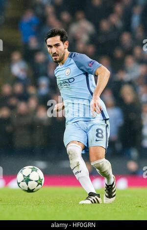 Manchester, UK. 6. Dezember 2016. Ilkay Gündogan (Mann C) Fußball: Ilkay Gündogan von Manchester City während der - Stockfoto