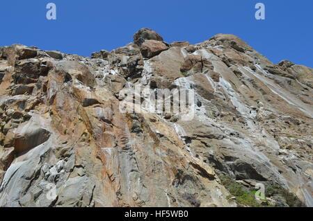 Fassade der Morro Rock - Stockfoto