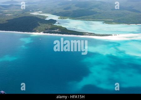 Whitsunday Islands, Whitehaven Beach, Queensland, Australien - Stockfoto