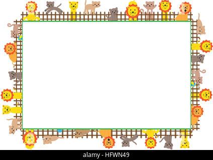 Farbige Rahmen für Kinder Stockfoto, Bild: 130257782 - Alamy